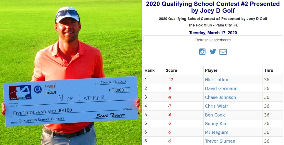 Qualifying School Contest #2